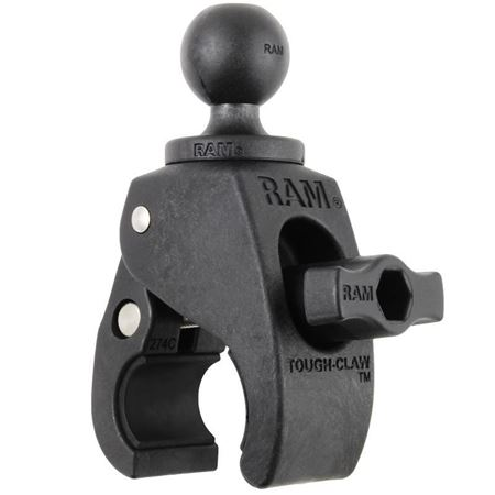 "Picture of RAM Small Tough-Claw with B Size 1"" Diameter Rubber Ball"